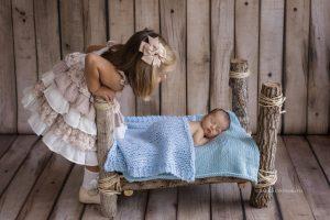 reportajes fotograficos de recien nacido en estudio en torrent valencia