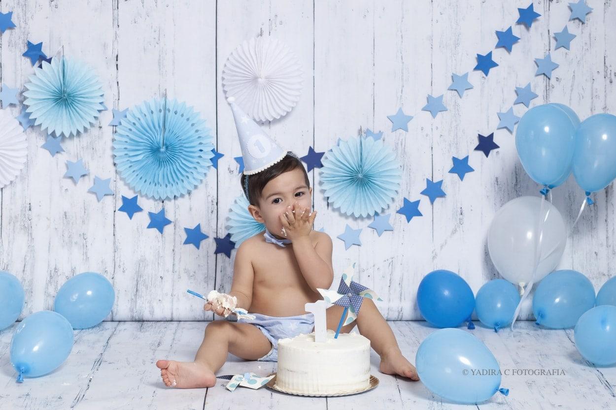 Javier: un primer cumpleaños muy divertido.