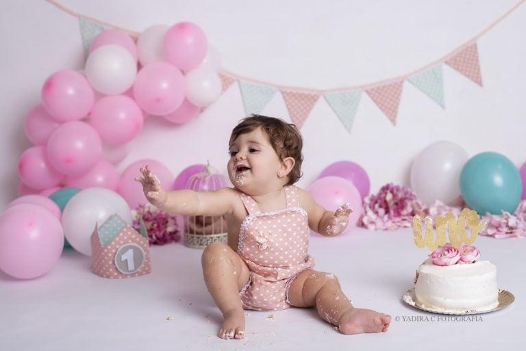 fotografia primer cumpleaños bebe torrent valencia